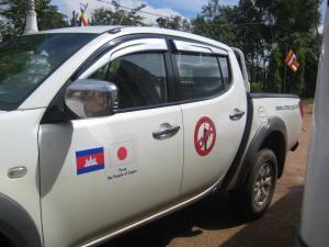 CMAC Truck Cambodia